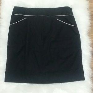Anthropologie Floreat black skirt
